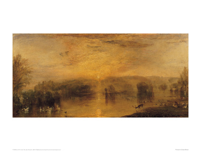 The Lake, Petworth, 1829 Giclee Print by J.M.W. Turner