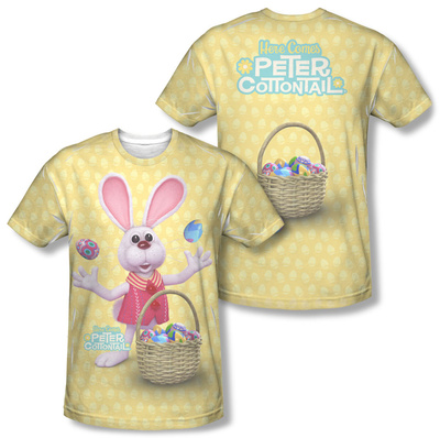 Here Comes Peter Cottontail - Basket Of Eggs (Front/Back) T-shirts