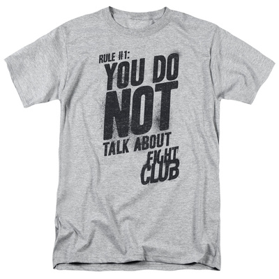 Fight Club - Rule 1 Shirt