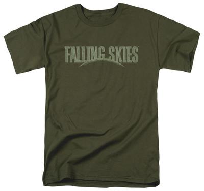 Falling Skies - Distressed Logo Shirt