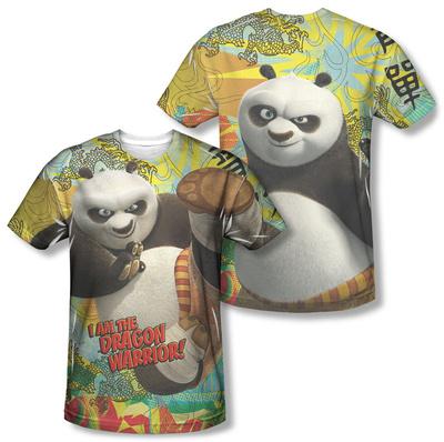Kung Fu Panda - Dragon Warrior (Front/Back) T-shirts