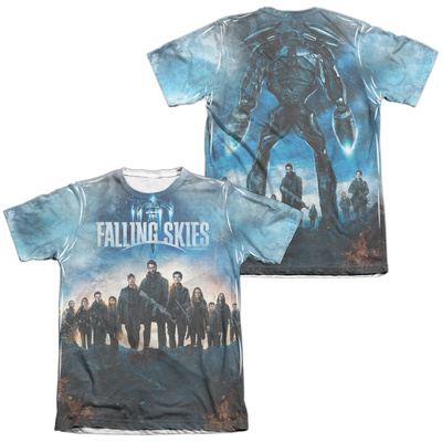 Falling Skies - Battle (Front/Back Print) T-shirts