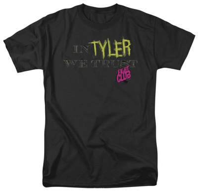 Fight Club - In Tyler We Trust Shirt