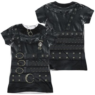 Juniors: Edward Scissorhands - Edward Costume (Front - Back Print) (Front/Back Print) T-Shirt