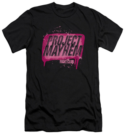 Fight Club - Project Mayhem (slim fit) T-shirts