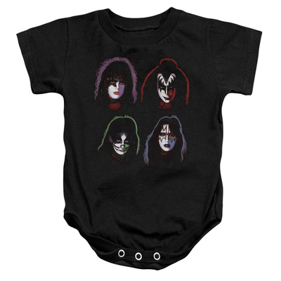 Infant: KISS - Solo Heads Infant Onesie