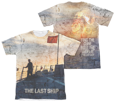 The Last Ship - Searching (Front/Back Print) T-Shirt
