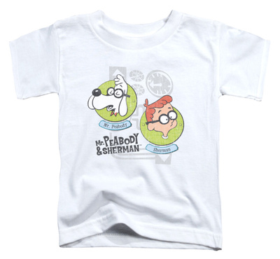 Toddler: Mr Peabody & Sherman - Gadgets T-Shirt
