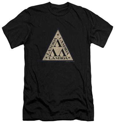 Revenge Of The Nerds – Tri Lambda Logo (slim fit) T-Shirt