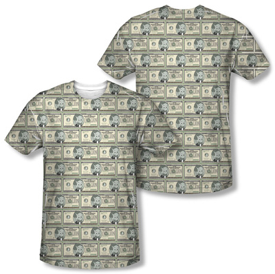 Richie Rich - Millions (Front/Back) T-shirts