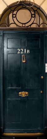 Sherlock - 221b Door Posters