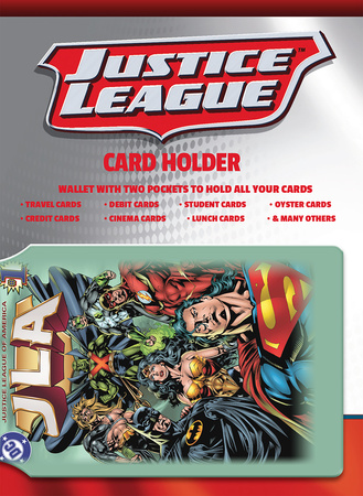 DC Comics Justice League Card Holder Portemonnee