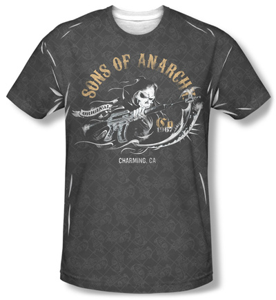 Sons Of Anarchy - Reaper Repeat T-shirts