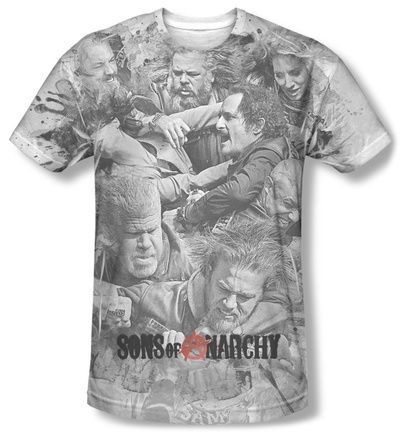 Sons Of Anarchy - Brawl T-shirts