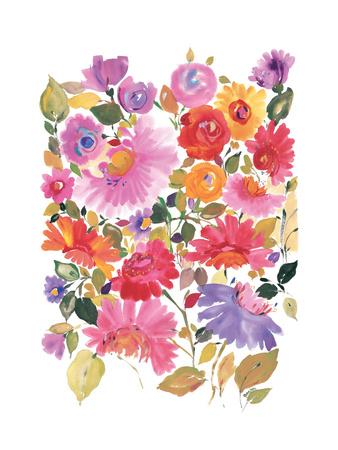 Gartenstrauß Giclée-Druck von Kim Parker