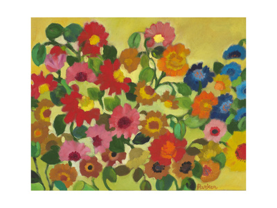July Garden Giclee Print by Kim Parker