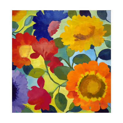 Flower Market 2 Giclee Print by Kim Parker