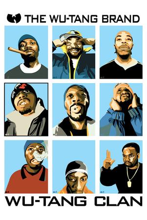 Wu Tang Brand Affischer