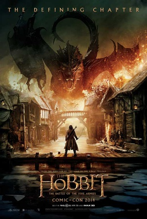 The Hobbit: The Battle Of The Five Armies Masterprint