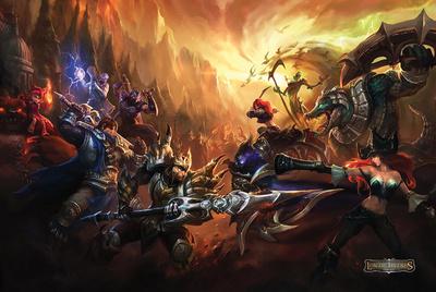 League Of Legends Print