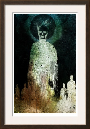 The Dead Walk Limited Edition Framed Print by Alex Cherry