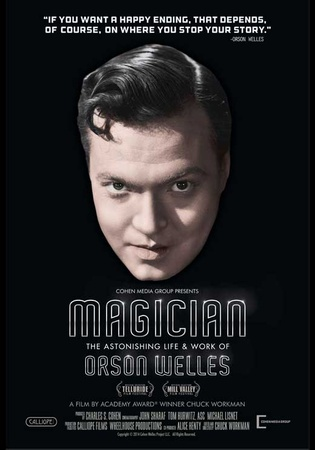 Magician: The Astonishing Life And Work Of Orson Welles Masterprint