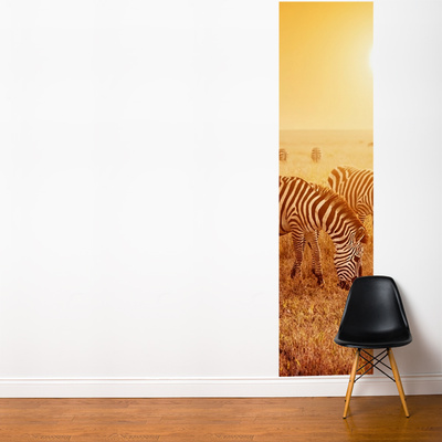 Black Stripe Wall Mural