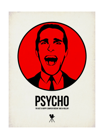 Psycho 2 Prints by Aron Stein