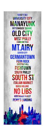Streets of Philadelphia 1 Posters by Lina Lu