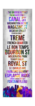 Streets of New Orleans 1 Prints by Lina Lu