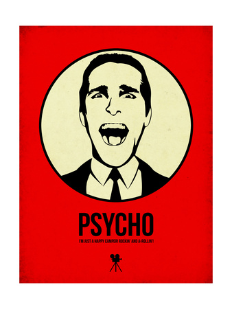 Psycho 1 Posters af Aron Stein