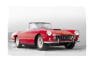 1960 Ferrari 250GT Pinifarina Watercolor Prints by  NaxArt
