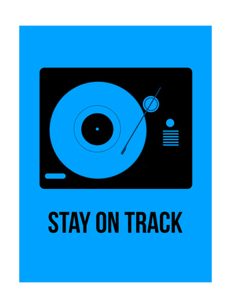 Stay on Track Blue Prints by  NaxArt