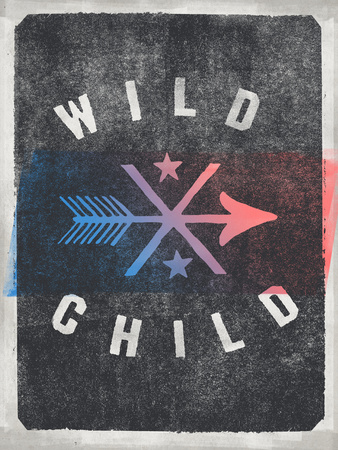 WILD CHILD Arrow Design Wall Decal by  Junk Food