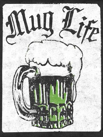Mug Life Wall Decal by  Junk Food