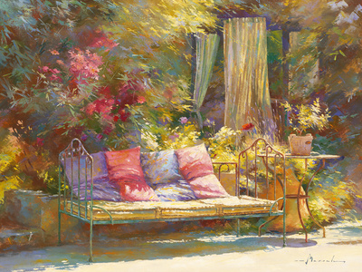 Repos au Regalido Posters by Johan Messely