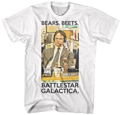 The Office - Dwight Battlestar Galactica Shirts