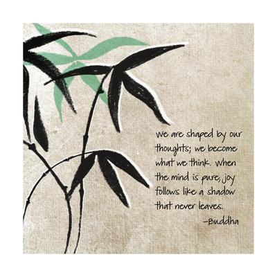 Joy Follows Print by Linda Woods