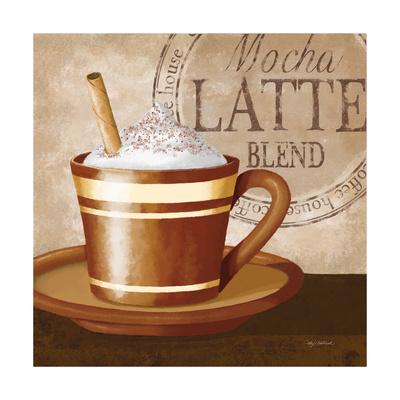 Mocha Latte Poster by Kathy Middlebrook