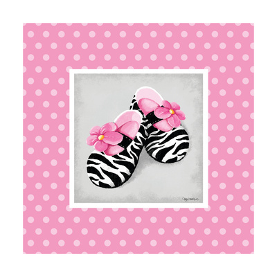 Wild Child Dress Shoe Print by Kathy Middlebrook