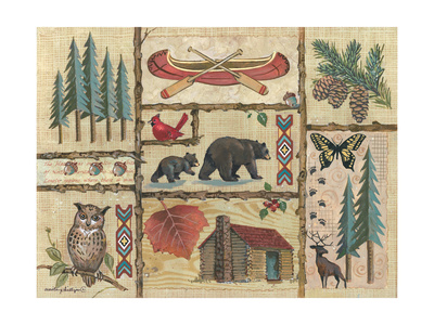 Joys of Camping Prints by Anita Phillips