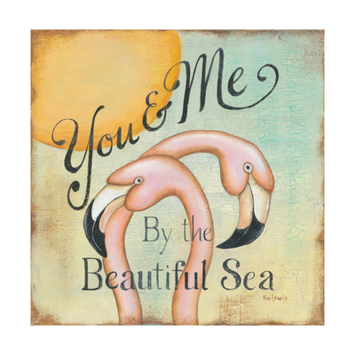 You and Me Prints by Kim Lewis