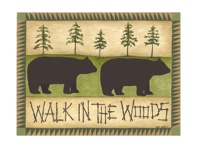Walk in the Woods Poster by Cindy Shamp