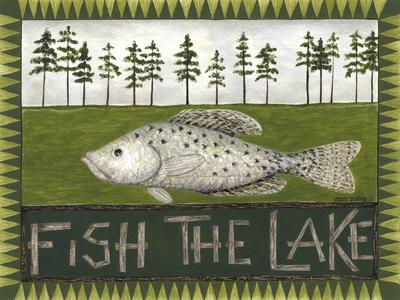 Fish the Lake Prints by Cindy Shamp