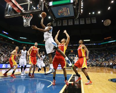 Houston Rockets v Minnesota Timberwolves Photo by Jordan Johnson