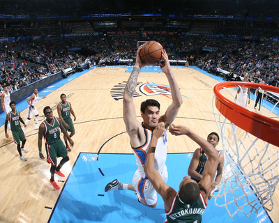 Milwaukee Bucks v Oklahoma City Thunder Photo by Layne Murdoch Jr