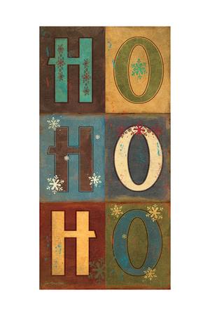 Hohoho! Posters by Jo Moulton