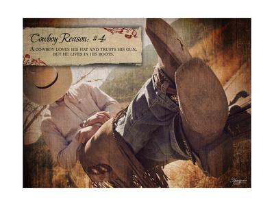 Cowboy Reason IV Posters by Shawnda Craig