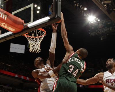 Milwaukee Bucks v Miami Heat Photo by Issac Baldizon