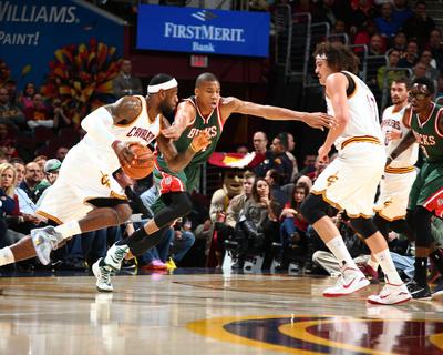 Milwaukee Bucks v Cleveland Cavaliers Photo by Nathaniel S Butler